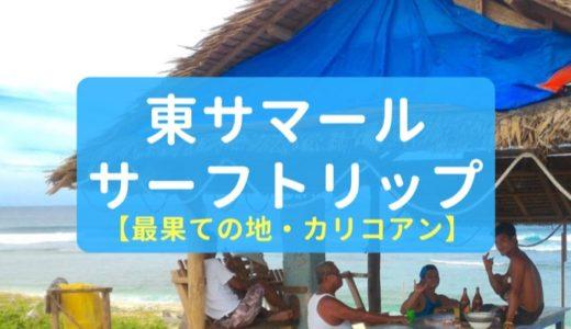 フィリピン・サマール島東部でサーフィンだ!【ABCDビーチ】