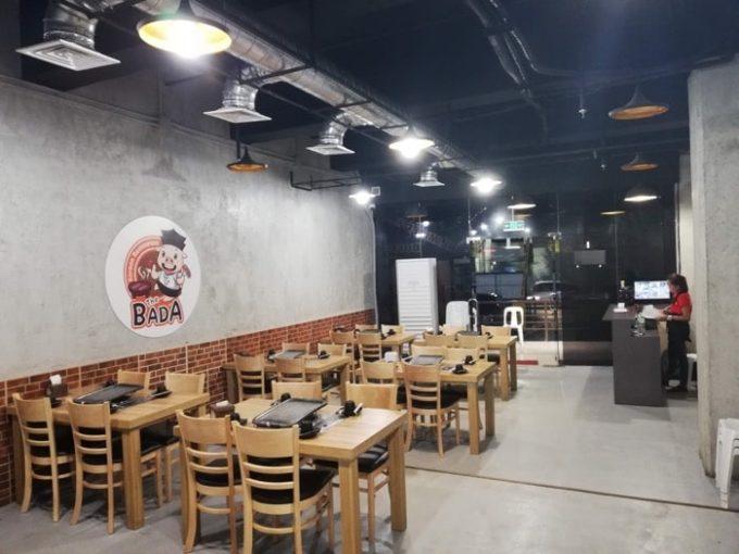 セブ韓国焼肉BADA、1F