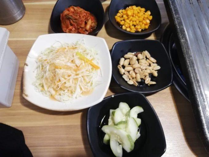 セブ韓国焼肉BADA、つまみ