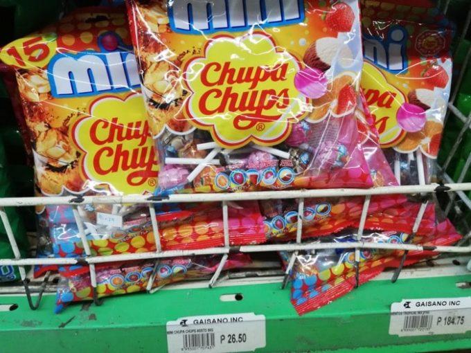 フィリピン土産、チュッパチャップス