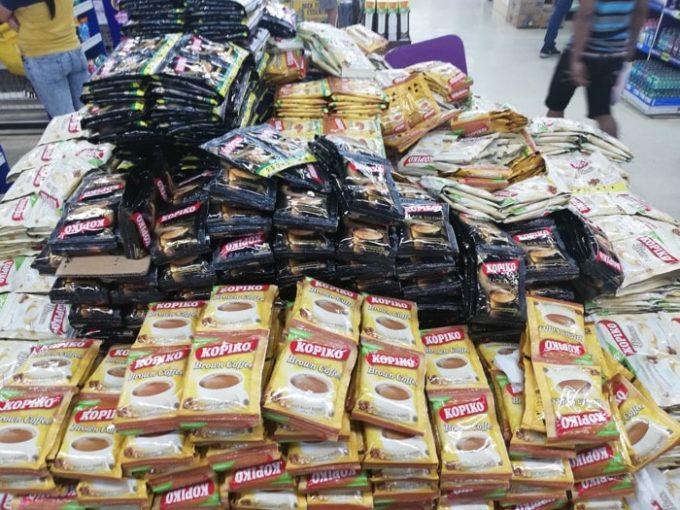 フィリピン土産、安いコーヒー小袋