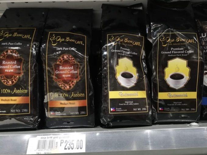 フィリピン土産、バターコーヒー