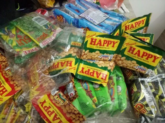 フィリピン土産、バラマキ菓子