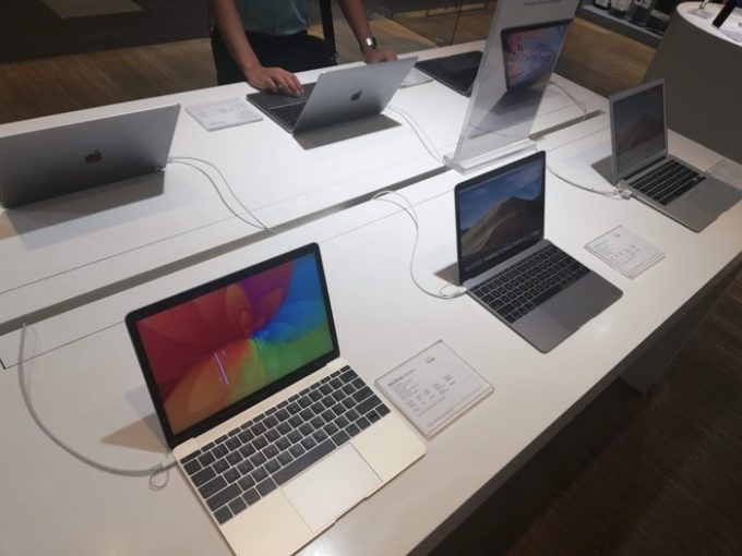 セブSMシティ:macbook価格