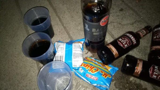フィリピン、お酒の残骸