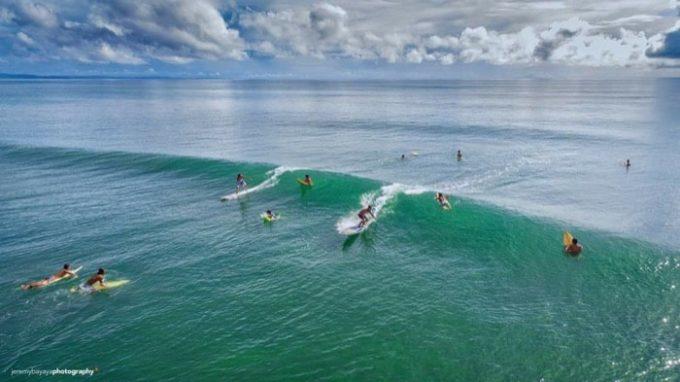 フィリピンサーフィン、レイテ島サバン