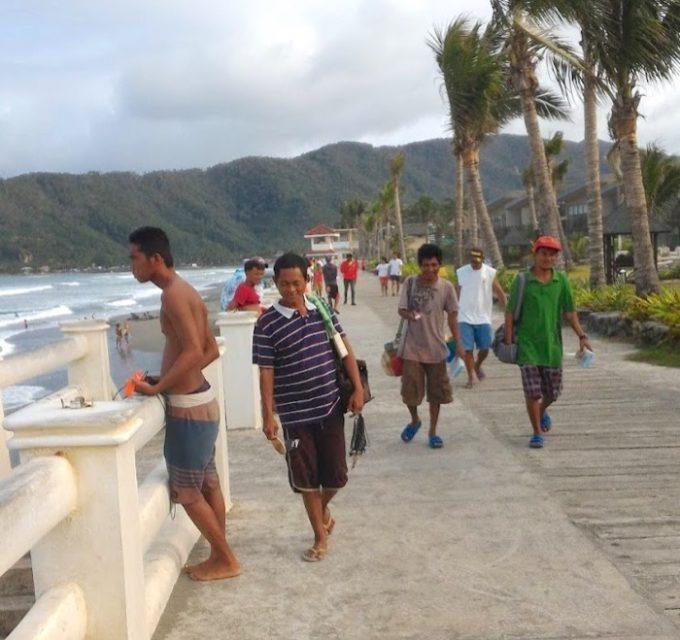 バレル:サバンビーチ歩道