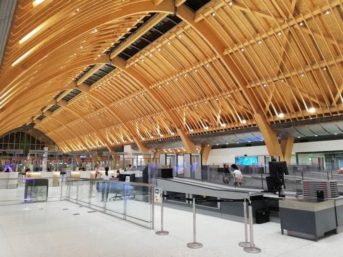 マクタン空港新ターミナル:手荷物検査突破