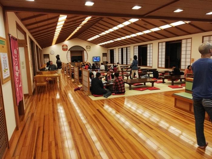 弘法の里湯:2階休憩所