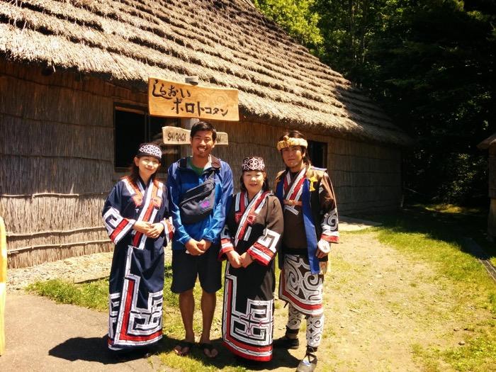 白老アイヌ民族村(コタン)