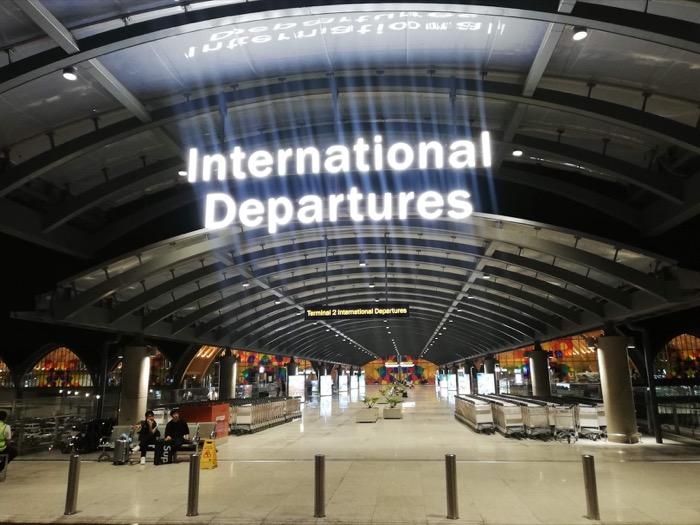 マクタン空港、新ターミナル