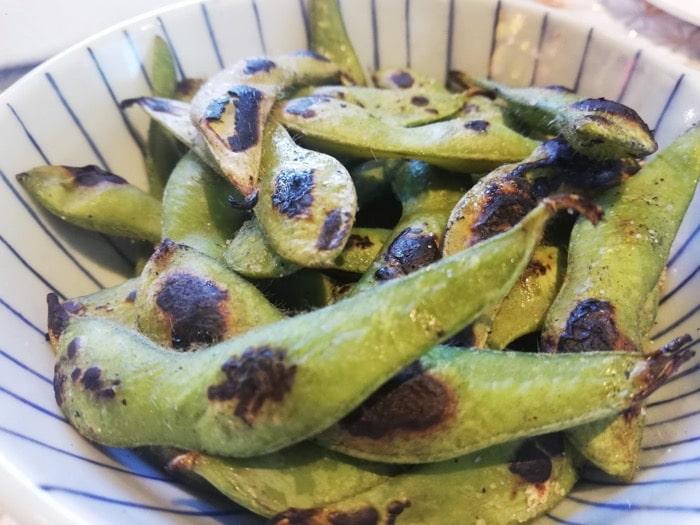 松之家セブ島SMシーサイド:焼き枝豆