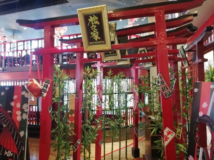 松之家セブ島SMシーサイド:日本的な鳥居