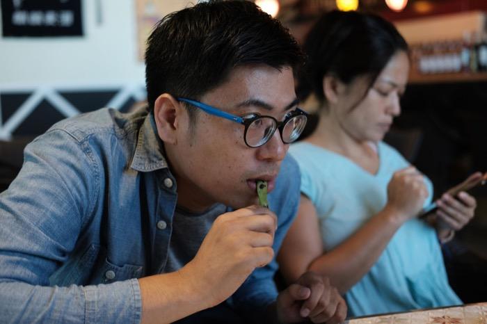 松之家SMシーサイド、焼き枝豆