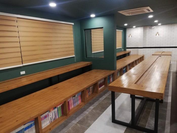 グランドスパ:図書館