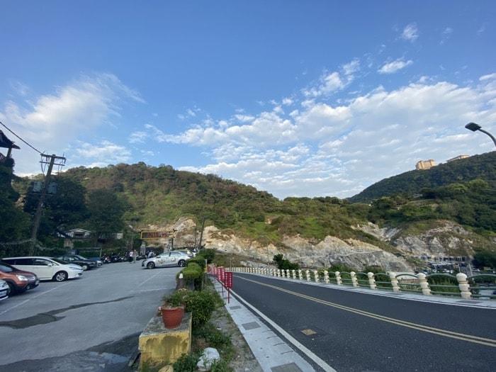 山之林への道